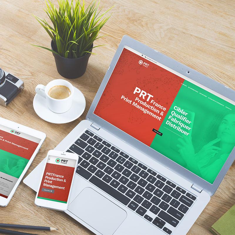 En ligne le nouveau site de PRT France
